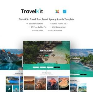 Travel Agency Web Theme