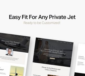 aviation website template