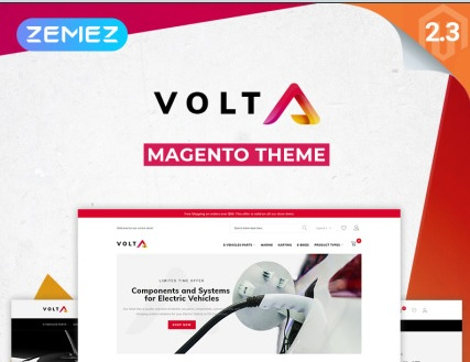 electrical equipment web template